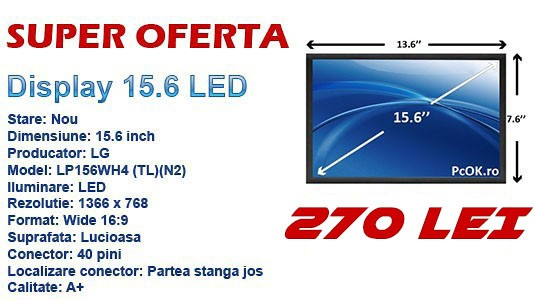 Promotie display laptop 15.6